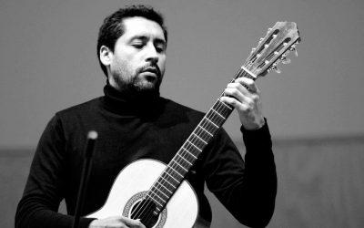Esteban Espinoza guitarra Santiago de Cecilia